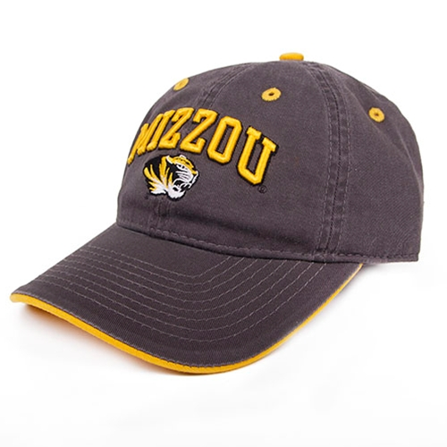 Mizzou Tigers Toddler's Charcoal Adjustable Hat