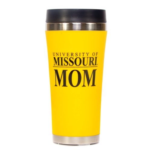 University of Missouri Mom Gold Travel Tumbler