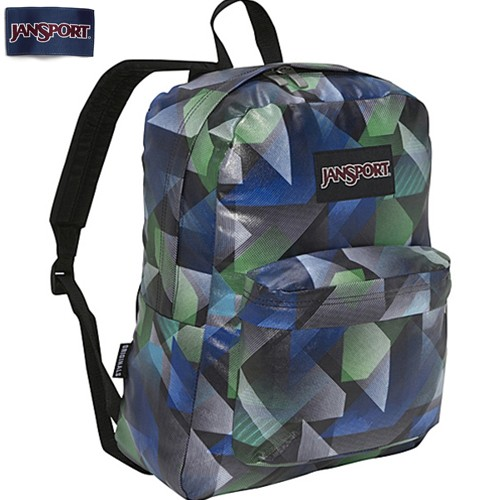 on sale 47712 22c9f JanSport High Stakes Black Putting Green Backpack