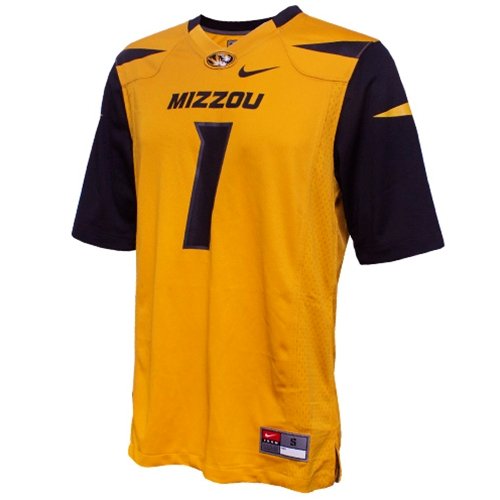 Mizzou Nike&reg Replica Football Jersey