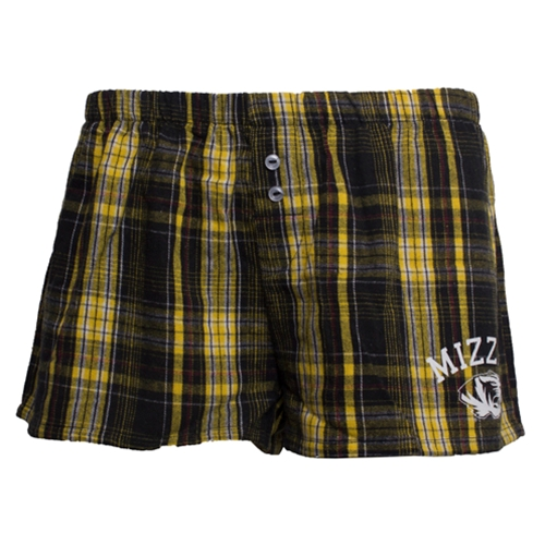 Mizzou Juniors' Official Plaid Shorts