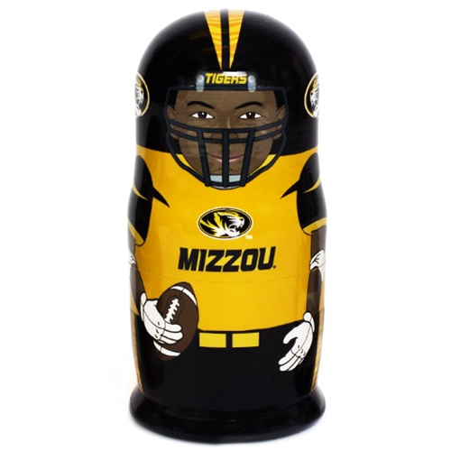 Mizzou Football Russian Nesting Dolls