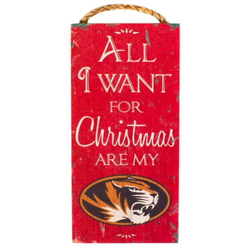 Mizzou All I Want for Christmas are My Tigers
