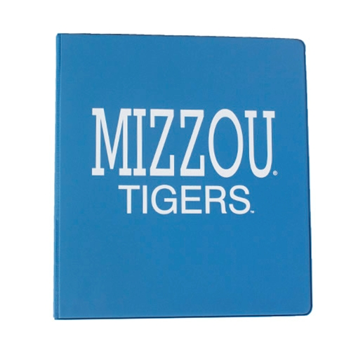 "Mizzou Tigers Light Blue 1"" 3-Ring Binder"