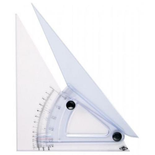 "Alvin 10"" Computing Trig-Scale Adjustable Triangle"