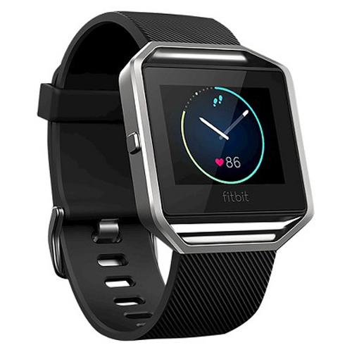 Fitbit Blaze Fitness Tracker & Watch, Black Small