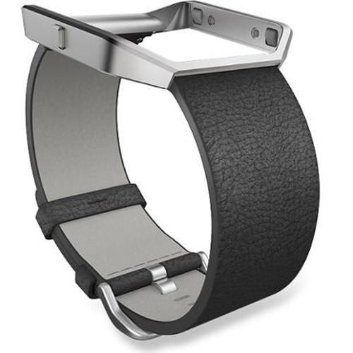 Fitbit Blaze Black Leather Small Accessory Band