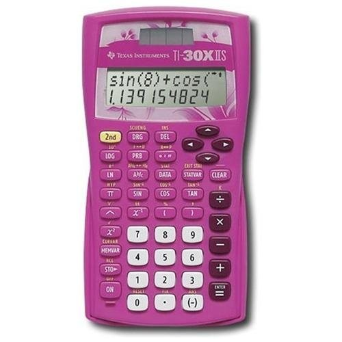 Texas Instruments TI-30X IIS Pink Scientific Calculator