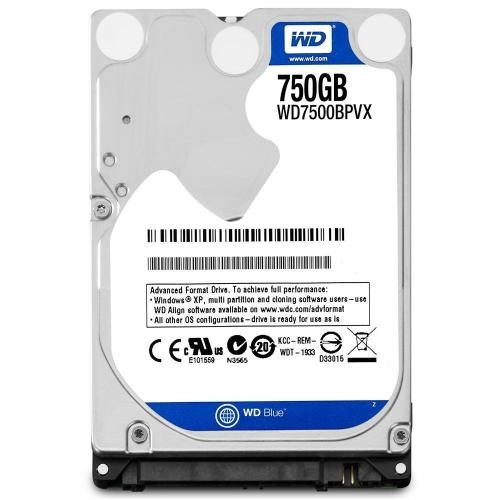 WD Blue 750GB Mobile Hard Disk Drive