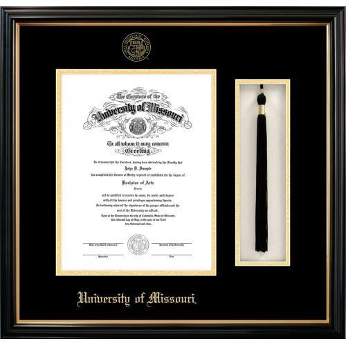 The Mizzou Store Tassel Box Petite Diploma Frame