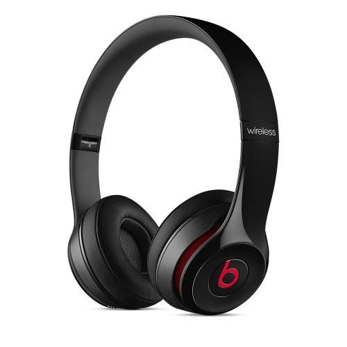 Beats by Dre Black Solo2 Wireless On-Ear Headphones