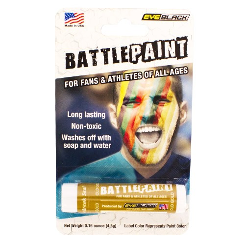 Gold Battlepaint Face Paint Stick