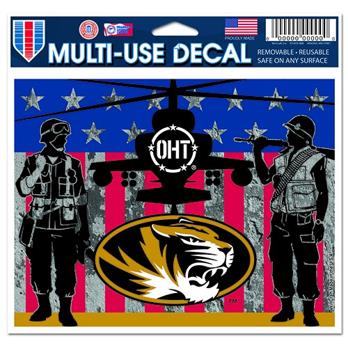 b626f3b41c7 The Mizzou Store - Mizzou Oval Tiger Head OHT Military Decal