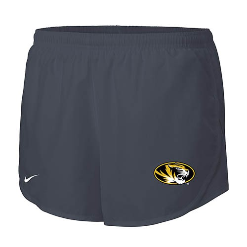 Mizzou Nike&reg Juniors' Charcoal Running Shorts