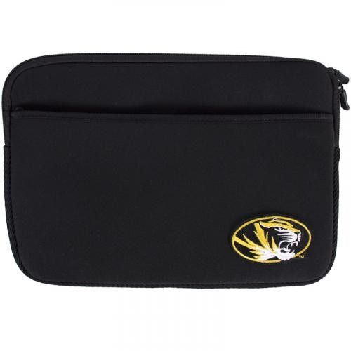 "Mizzou Oval Tiger Head Black 11/12"" Laptop Sleeve"