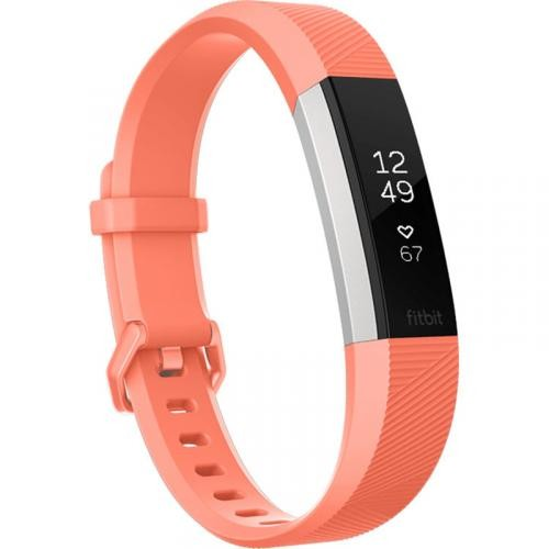 Fitbit Alta HR Activity Tracker Large Coral