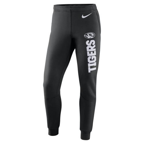 Mizzou Tigers Nike&reg 2017 Black Closed Bottom Sweatpants