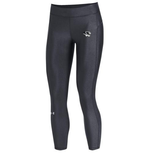 Mizzou Under Armour Juniors' Charcoal Athletic Capri Leggings