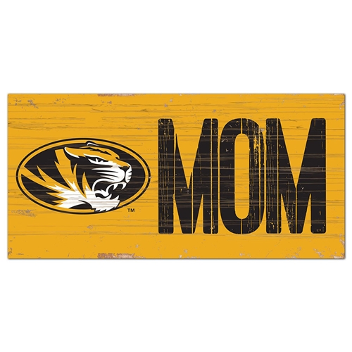 Mizzou Mom Wooden Sign