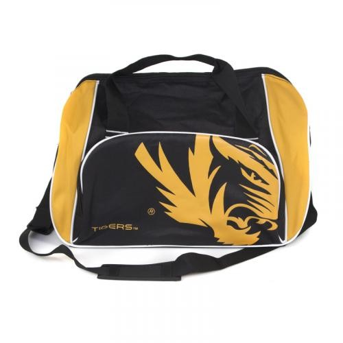 Mizzou Tigers Black & Gold Duffel Bag