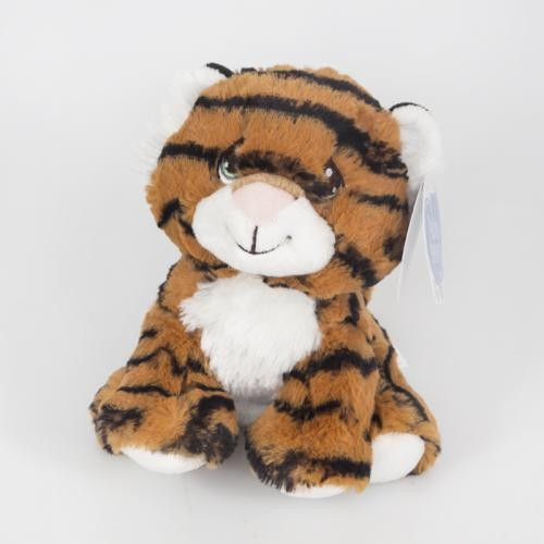 "12"" Sitting Stuffed Tiger"