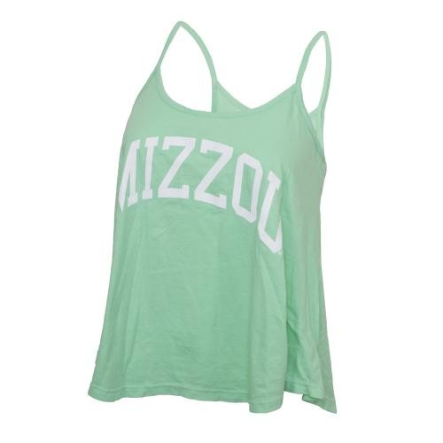 Mizzou Juniors' Mint Green Tank Top