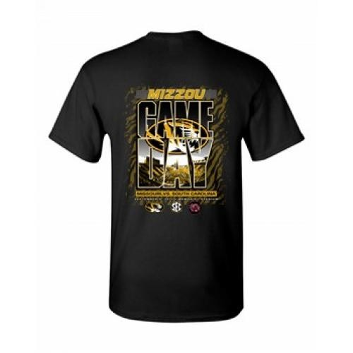 Mizzou Tigers vs South Carolina 2017 Official Game Day T-Shirt