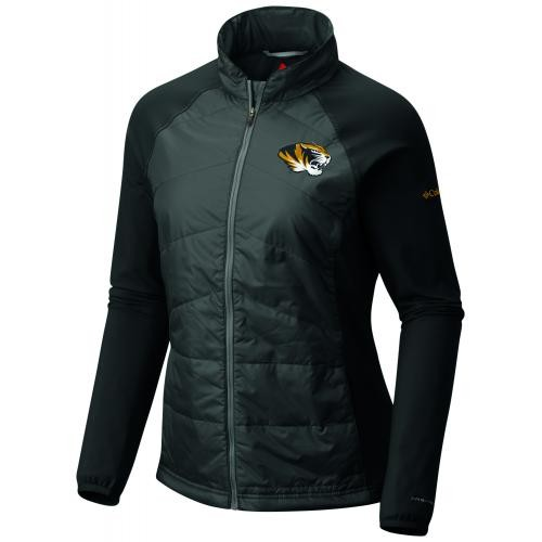 Mizzou Columbia Juniors' Full Zip Black Jacket