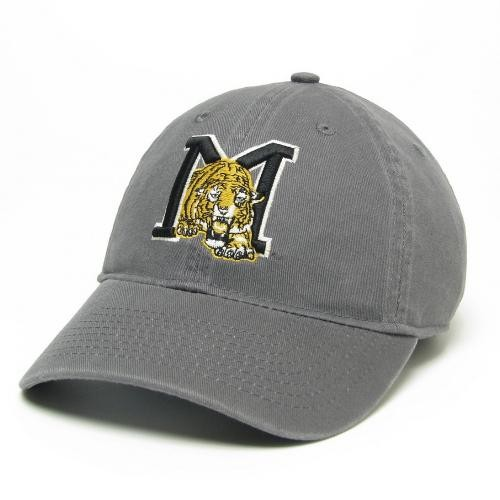 Mizzou Retro Tiger Grey Adjustable Hat