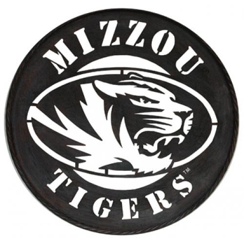 Mizzou Tigers Iron Wall Sign