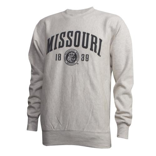 Missouri Official Seal Off White Crew Neck Sweatshirt