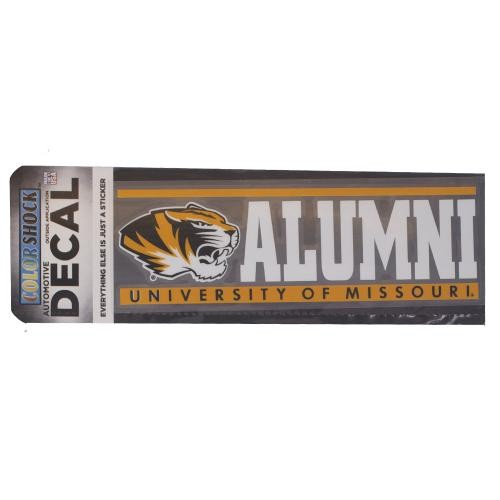 University of Missouri Alumni Decal