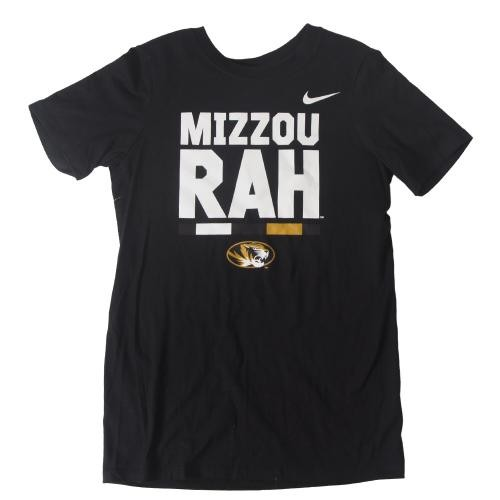 Mizzou-Rah Nike&reg Kids' Black Crew Neck T-Shirt