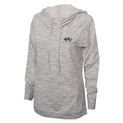 Mizzou Cutter & Buck Women's Off White Hoodie