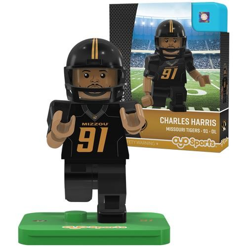 Mizzou Charles Harris Action Figure