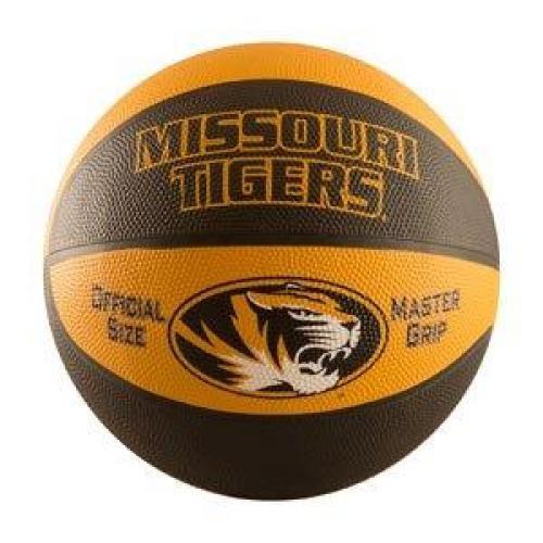 75e752f301 The Mizzou Store - Mizzou Tigers Black & Gold Full Size Basketball