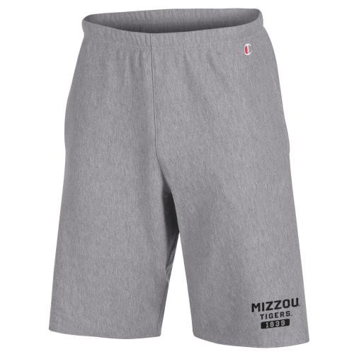 Mizzou Tigers Grey French Terry Shorts