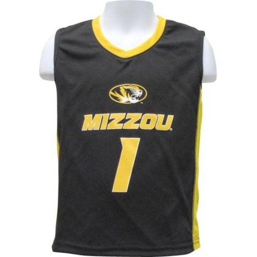 ba14d329de The Mizzou Store - Mizzou Kids' Black & Gold Basketball Jersey