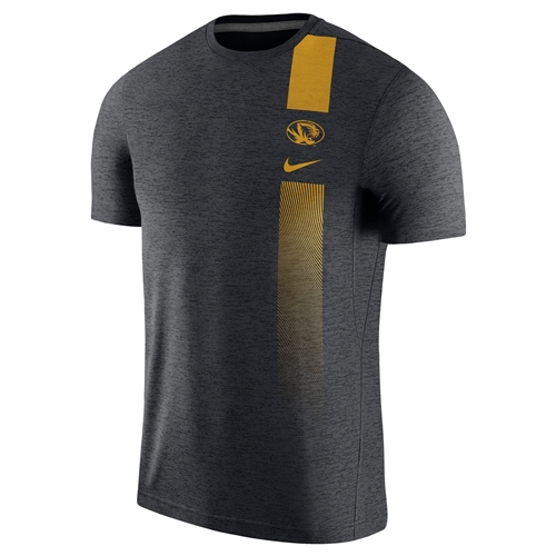 Mizzou Nike&reg 2018 Oval Tiger Head Black Athletic T-Shirt