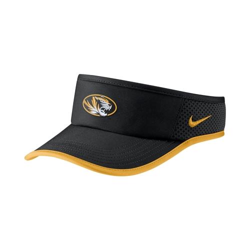 f8b226ab1 Mizzou Nike® Black & Gold Visor Osfa Black