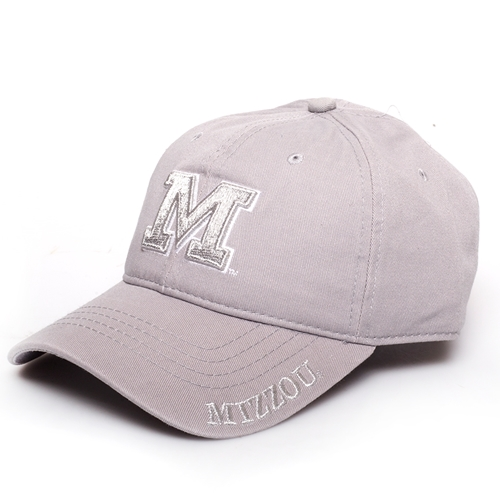 Mizzou Juniors' Grey Metallic Adjustable Hat