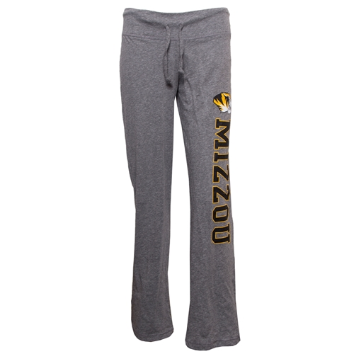 Mizzou Juniors' Grey Open Bottom Pants