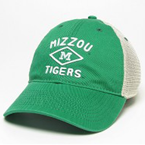 875e63295738c Mizzou Tigers St. Patrick s Day Green Trucker Hat