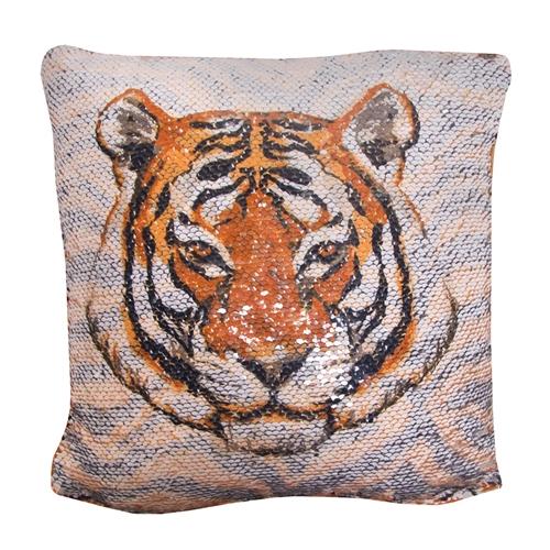 the mizzou store mizzou tiger stripe reversible sequin pillow