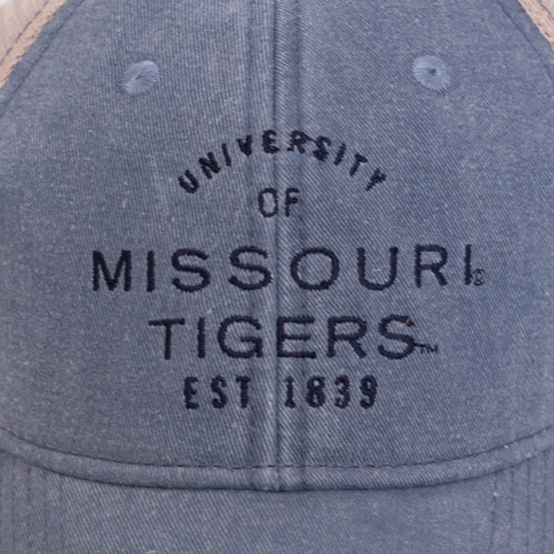 ae04986dd4f9d The Mizzou Store - Missouri Tigers Juniors  Light Blue Trucker Hat