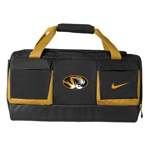 Mizzou Nike 2018 Black Gold Duffle Bag