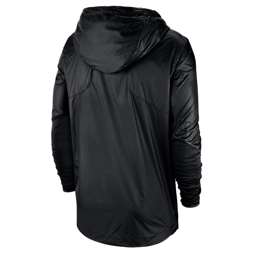 f1c74c8ded6d The Mizzou Store - Mizzou Nike reg Oval Tiger Head Black Rain Jacket