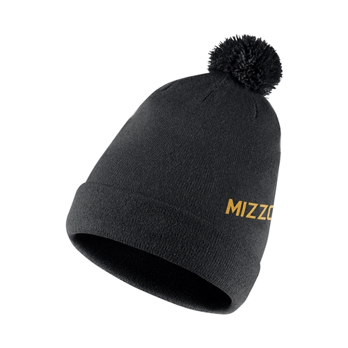 Mizzou Nike&reg Black & Gold Reversible Beanie