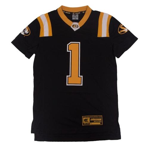 7ec4c6879b The Mizzou Store - Mizzou Kids' Black & Gold Football Jersey