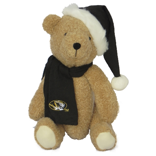 Mizzou Holiday Stuffed Bear